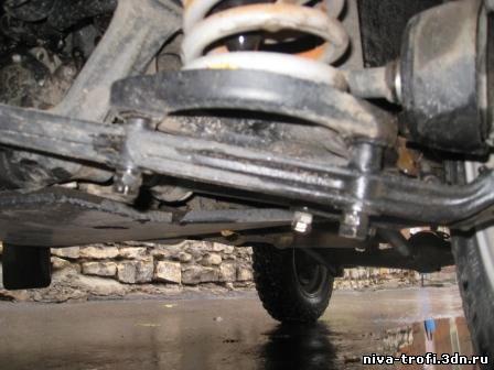 Передняя подвеска ВАЗ 21213 - Ваз 21214